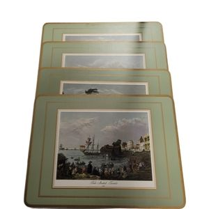 Pimpernel Cork Placemats historic Ontario cities